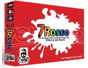 7 ROSSO GIOCHI DI CARTE - DA TAVOLO/SOCIETA'