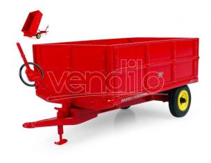 UNIVERSAL HOBBIES UH6242 RIMORCHIO MASSEY FERGUSON MF 21 W/EXTRA SIDE PANELS 1:32 Modellino