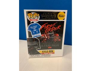 Star Wars Episodio IX Set Funko POP Vinile Figura Kylo Ren Leader Supremo & T-Shirt