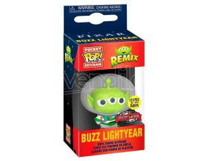 Pocket Pop Portachiavi Disney Pixar Alien Remix Buzz Glow Esclusiva Funko
