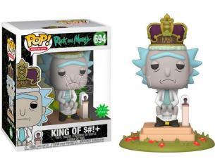Rick & Morty Funko POP Animazione Vinile Figura King Con Suono 9 cm