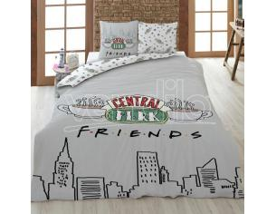 Friends Central Perk Cotone Copripiumino Letto 135cm Warner Bros.