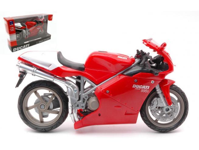 NEW RAY NY43693998 DUCATI 998 S RED 1:12 Modellino