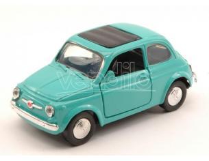 NEW RAY NY50713T FIAT 500 F 1957 TURQOISE 1:32 Modellino
