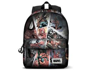 Marvel Spiderman Comic Regolabile Zaino 42cm Karactermania