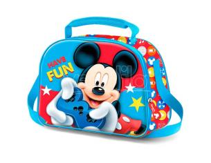 Disney Mickey 3d Borsa Per Il Pranzo Karactermania