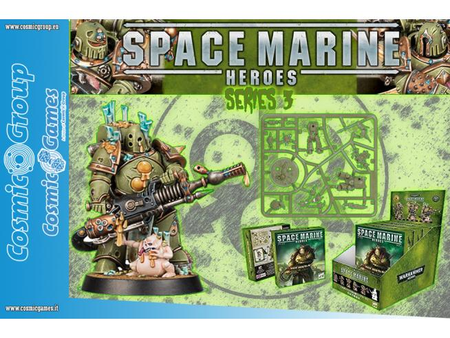 WARHAMMER 40K SPACE MARINE HEROES S3 (6) Miniature e Modellismo GAMES WORKSHOP