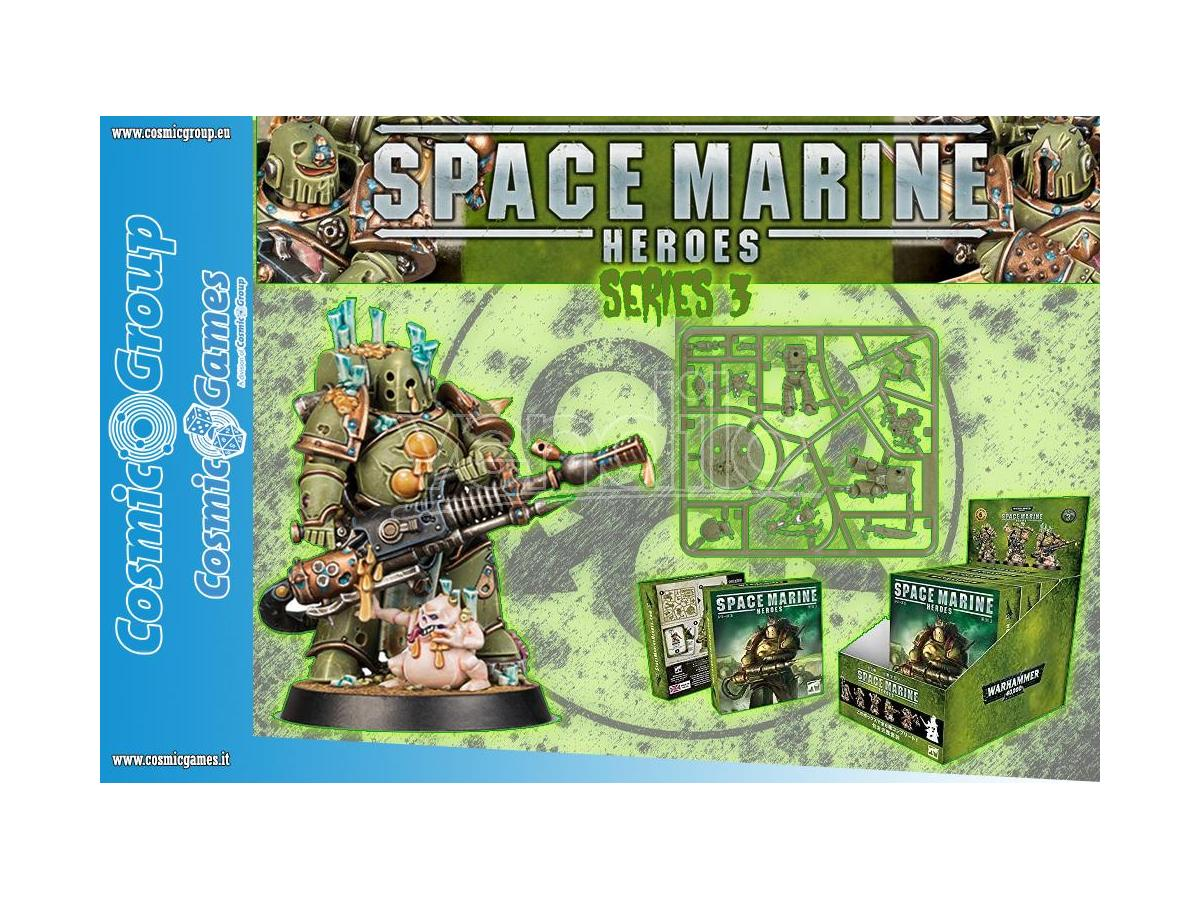 WARHAMMER 40K SPACE MARINE HEROES S3 (6) Miniature e Modellismo GAMES WORKSHOP