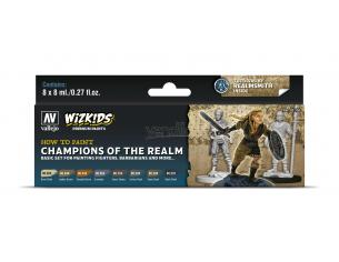 Wizbambino Ps Champions Of The Realm Colori Vallejo