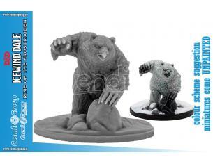 D&D ICEWIND DALE SNOWY OWLBEAR (1 FIG) Miniature e Modellismo GF9-BATTLEFRONT