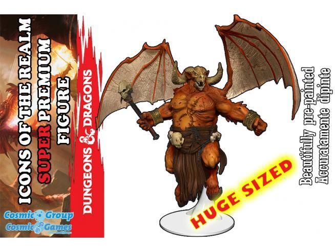D&d Iotr Demon Lord Orcus Premium Figura Mini Figura Wizbambino