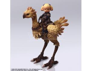 Ff Xi Bring Arts Shantotto & Chocobo Action Figura Square Enix