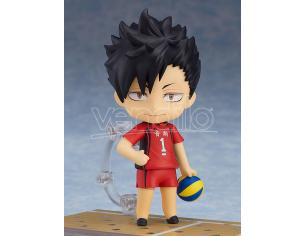 HAIKYU TETSURO KUROO NENDOROID MINI FIGURA ORANGE ROUGE