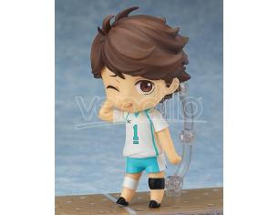 HAIKYU TORU OIKAWA NENDOROID MINI FIGURA ORANGE ROUGE