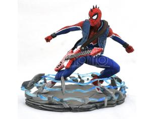 MARVEL GALLERY PS4 SPIDER-PUNK PVC ST STATUA DIAMOND SELECT
