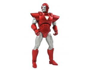 Marvel Select Silver Centurion Iron Man Action Figura Diamond Select