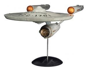 STAR TREK TOS USS ENTERPRISE PREBUILT REPLICA POLAR LIGHT