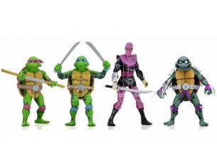 Tmnt Turtles In Time Series 1 Set (4) Action Figura Neca