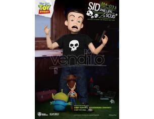 Toy Story Sid Phillips W/t Scud Dah Action Figura Beast Kingdom