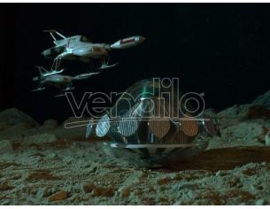 UFO SAUCER+LUNAR SURFACER DIECAST REPLICA SIXTEEN 12