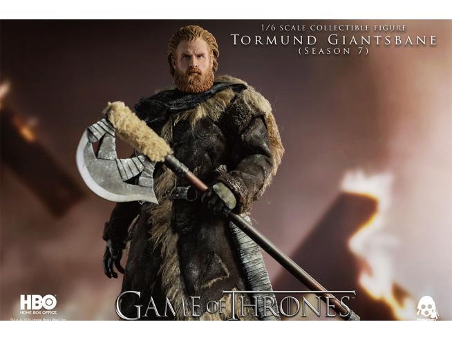 Got Tormund Giantsbane 1/6 Af Action Figura Threezero