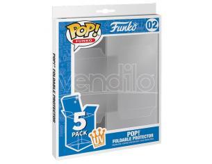 Protezioni per Funko POP Pieghevoli Confezione da 5 Protezione UV