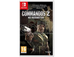 COMMANDOS 2 HD REMASTER STRATEGICO - NINTENDO SWITCH