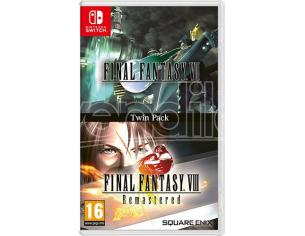 FINAL FANTASY VII & VIII REMASTERED GIOCO DI RUOLO (RPG) - NINTENDO SWITCH