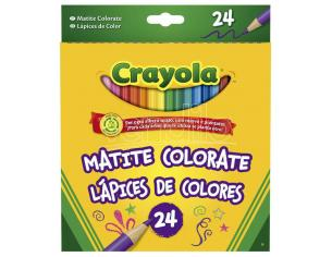 Crayola coloured pencils pack 24 Crayola