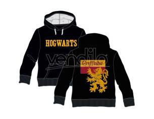 Harry Potter Felpa Con Cappuccio Grifondoro Hogwarts Adulto Warner Bros.