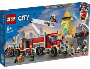 LEGO CITY 60282 - UNITA' DI COMANDO ANTINCENDIO