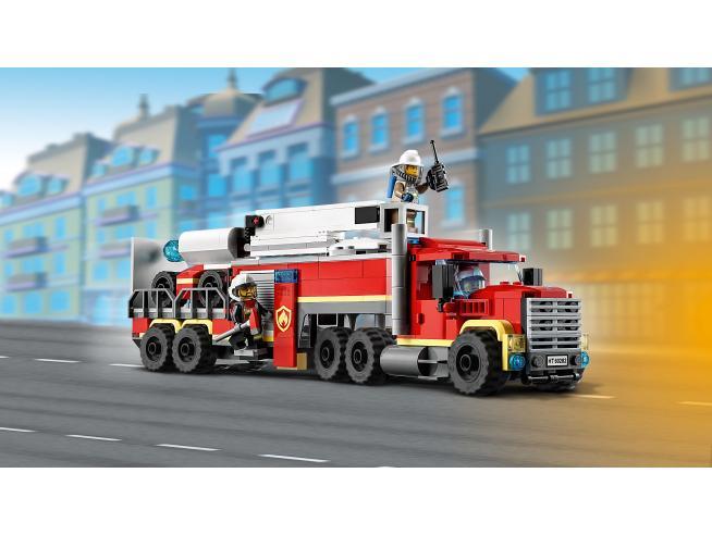 LEGO CITY 60282 - UNITA' DI COMANDO ANTINCENDIO
