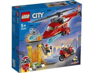 LEGO CITY 60281 - ELICOTTERO ANTINCENDIO