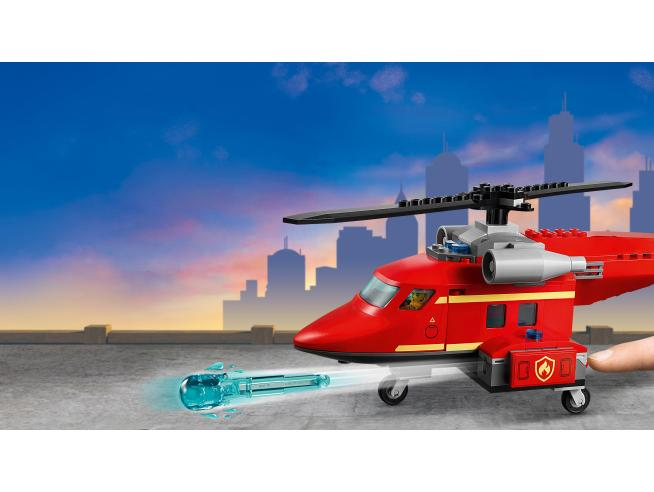 LEGO CITY 60281 - ELICOTTERO ANTINCENDIO