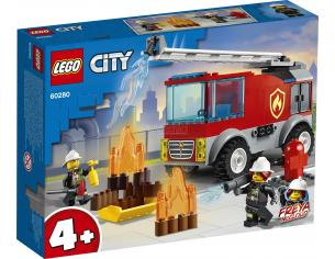 LEGO CITY 60280 - AUTOPOMPA CON SCALA NOVITA' GENNAIO