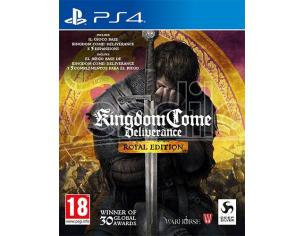 KINGDOM COME: DELIVERANCE ROYAL EDITION GIOCO DI RUOLO (RPG) - PLAYSTATION 4