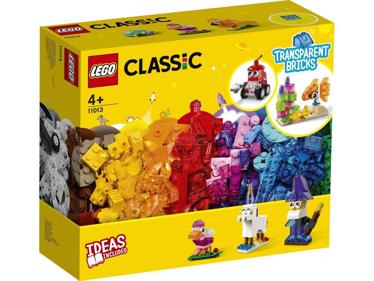 LEGO CLASSIC 11013 - MATTONCINI TRASPARENTI CREATIVI