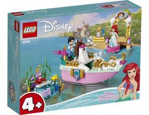 LEGO DISNEY PRINCESS 43191 - LA BARCA DELLA FESTA DI ARIEL