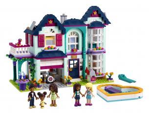LEGO FRIENDS 41449 - LA VILLETTA FAMILIARE DI ANDREA