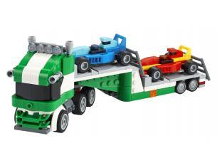 LEGO CREATOR 31113 - TRASPORTATORE DI AUTO DA CORSA NOVITA' GENNAIO