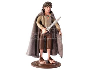 The Il Signore Degli Anelli Frodo Bendyfigs Malleable Figura 19cm Noble Collection