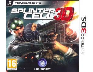 SPLINTER CELL 3D AZIONE - NINTENDO 3DS