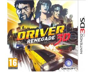 DRIVER RENEGADE AZIONE - NINTENDO 3DS