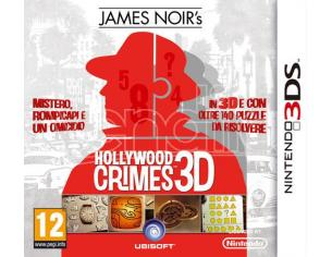 JAMES NOIR'S HOLLYWOOD CRIMES AVVENTURA - NINTENDO 3DS