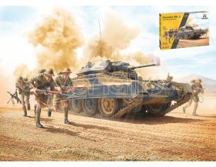 Italeri It6579 Crusader Mk.ii Con 8th Army Infantry Kit 1:35 Modellino