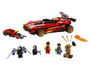 LEGO NINJAGO 71737 - SUPER-BOLIDE NINJA X-1