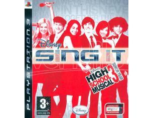 DISNEY SING IT! HIGH SCHOOL MUSICAL SOCIAL GAMES - OLD GEN