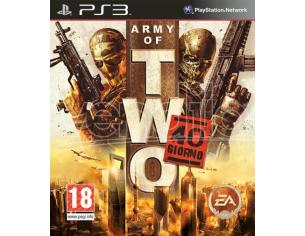 ARMY OF TWO THE 40TH DAY SPARATUTTO - OLD GEN