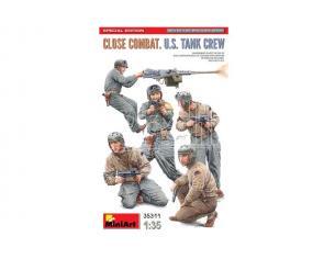 MINIART MIN35311 CLOSE COMBAT U.S.TANK CREW SPECIAL EDITION KIT 1:35 Modellino
