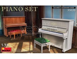MINIART MIN35626 PIANO SET KIT 1:35 Modellino